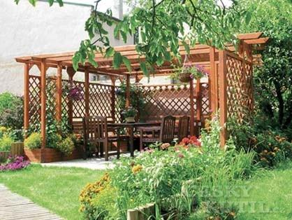 Oblíbené zahradní pergoly