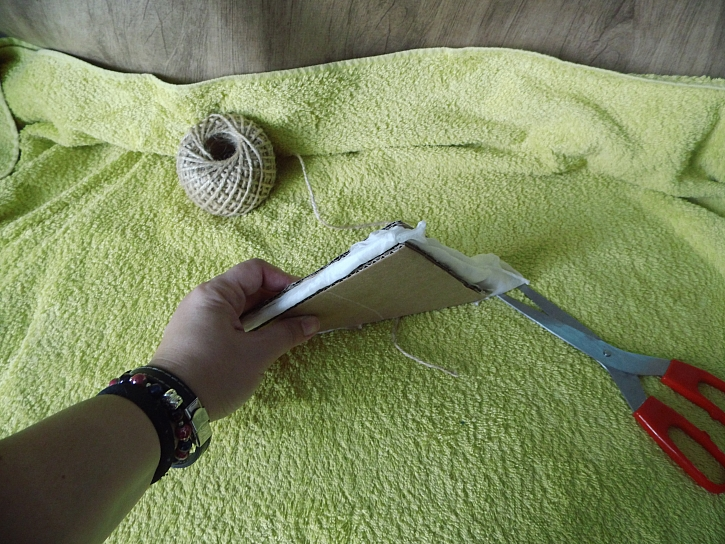 Příprava na batiku