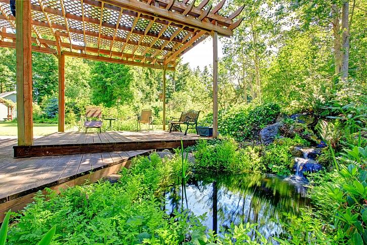 Drobné zahradní stavby a doplňky (Zdroj: Depositphotos)
