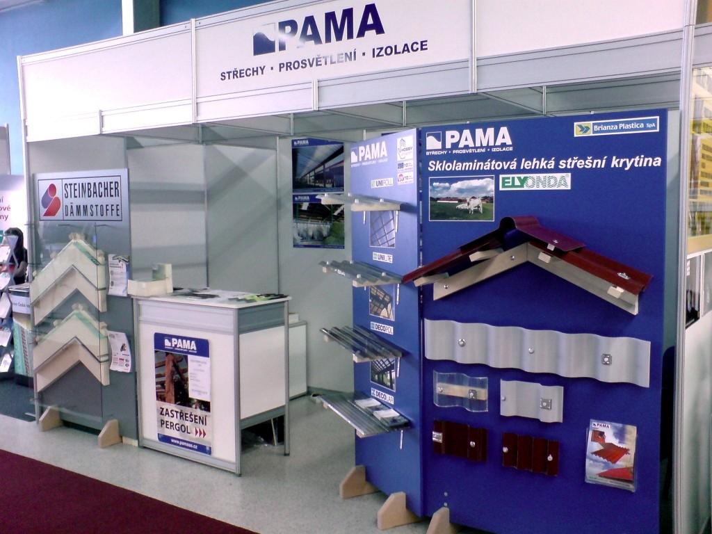 PAMA se účastní veletrhů IBF Brno