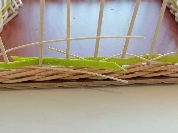 Zkrácení na konci pletení
