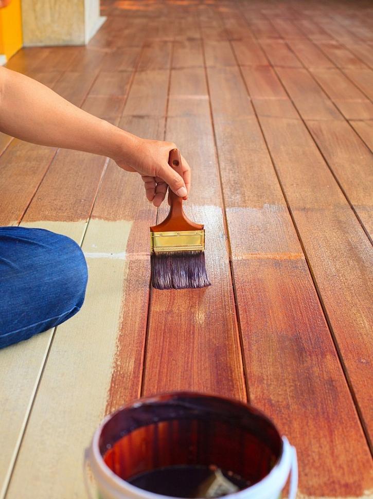 Napouštění dřeva