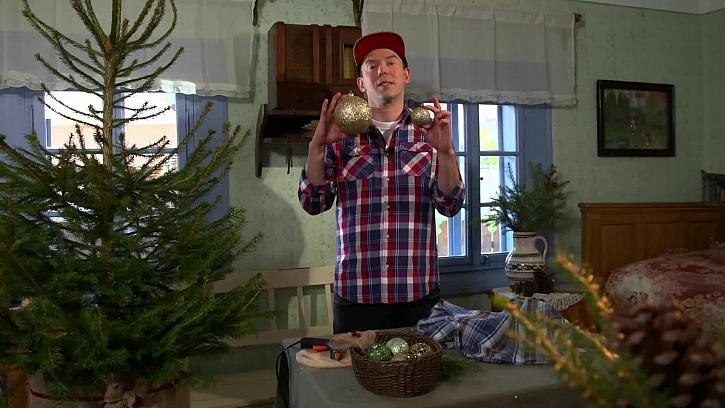 Vánoční koule pro zdobení