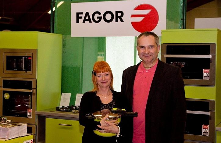 Fagor a Bára Štěpánová na veletrhu FAVIA DAY