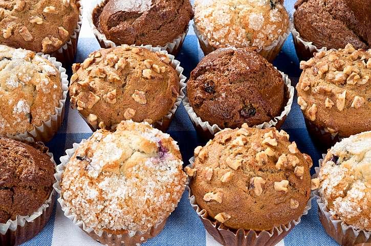 Skvělý recept na bláznivé muffiny (Zdroj: Depositphotos)