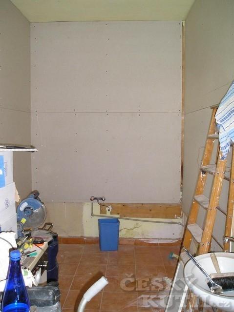 Povedená rekonstrukce koupelny