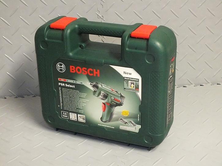 Bosch PSR Select - ostře nabito