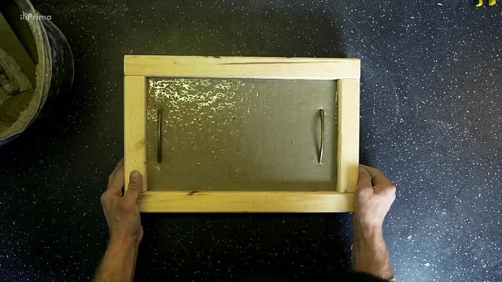 Úprava povrchu nalitého betonu