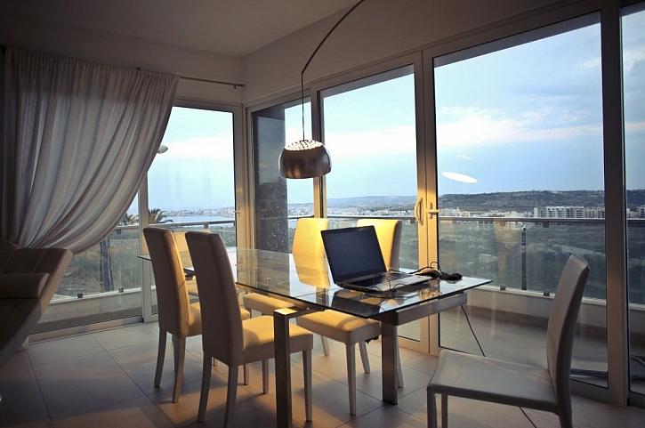 Zateplenou terasu je možné zrealizovat i u bytu