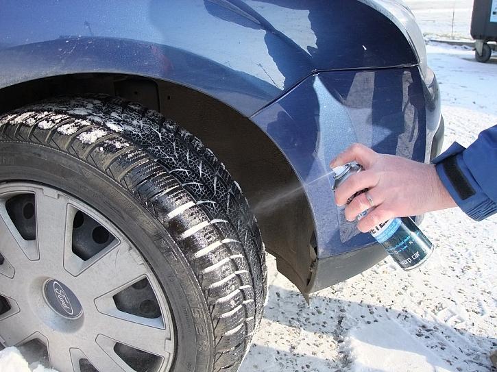 Tekuté řetězy na pneumatiky
