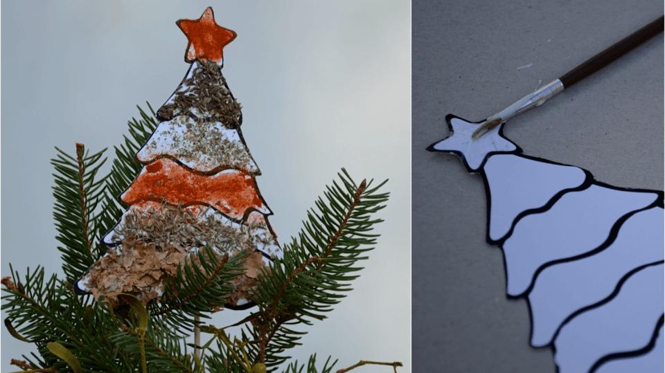 Jednoduchá vánoční dekorace: Stromeček svůní koření