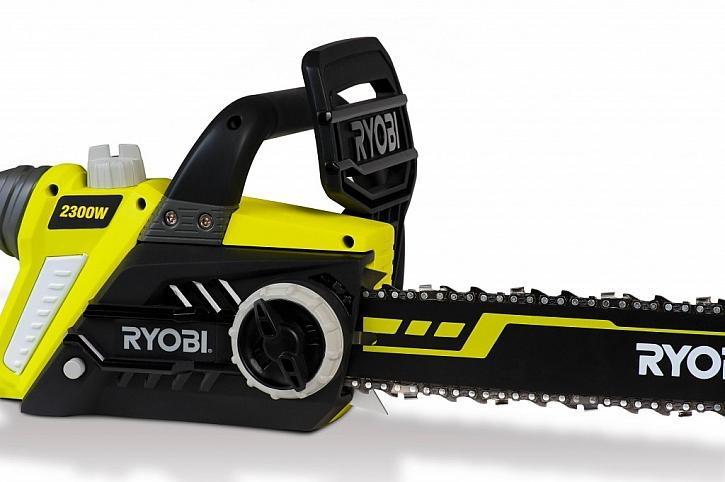 Vyšší výkon a větší komfort – bez dřiny a bez problémů s elektrickými pilami RYOBI