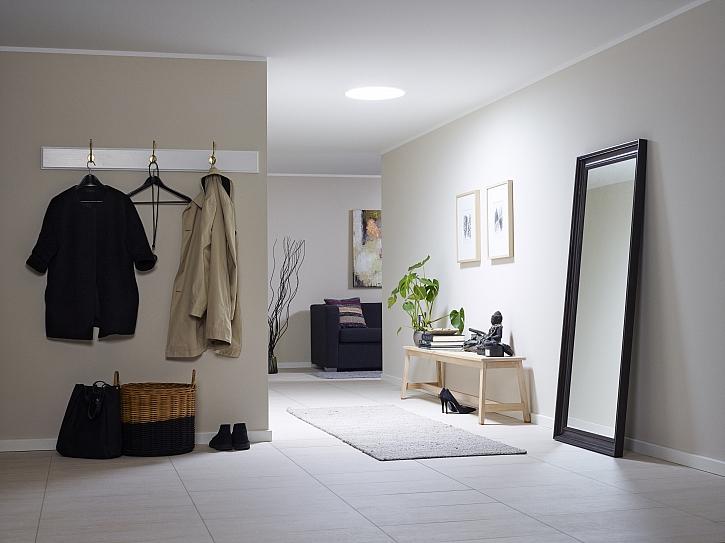 Světlovody VELUX přivedou denní světlo i do místností bez oken (Zdroj: Velux)