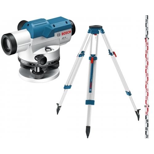 BOSCH GOL 26 D Professional Optický nivelační přístroj + BT 160 + GR