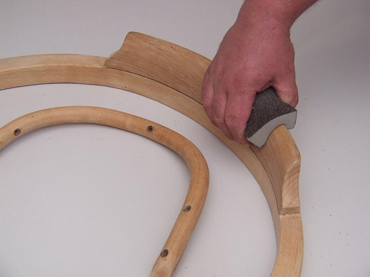 Čím brousit dřevo?