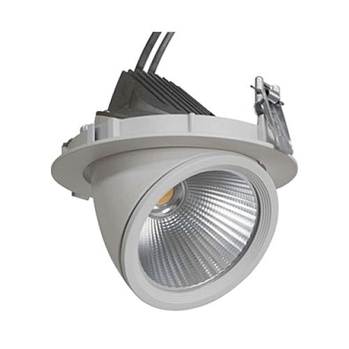 GIMBAL LED COB DOWNLIGHT 20W/940 60° CRI90+ Ø145x120mm IP20