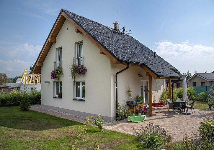 rodinný dům z liaporbetonu
