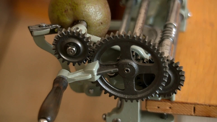 Detail mlýnku na ovoce