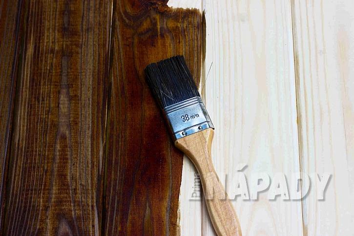 Nátěr dřeva