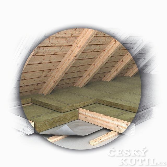 Teplo uniká vzhůru aneb zateplení střechy a trámového stropu