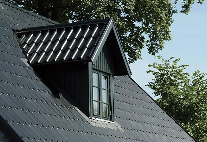 Střecha z oceli odolá všem rozmarům počasí