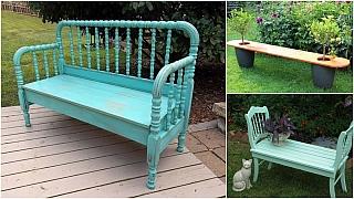 Netradiční lavičky do zahrady: Kterou si vyberete?