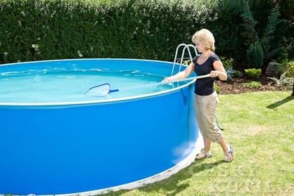 Solární plachta na bazén aneb i jednoduché věci fungují skvěle