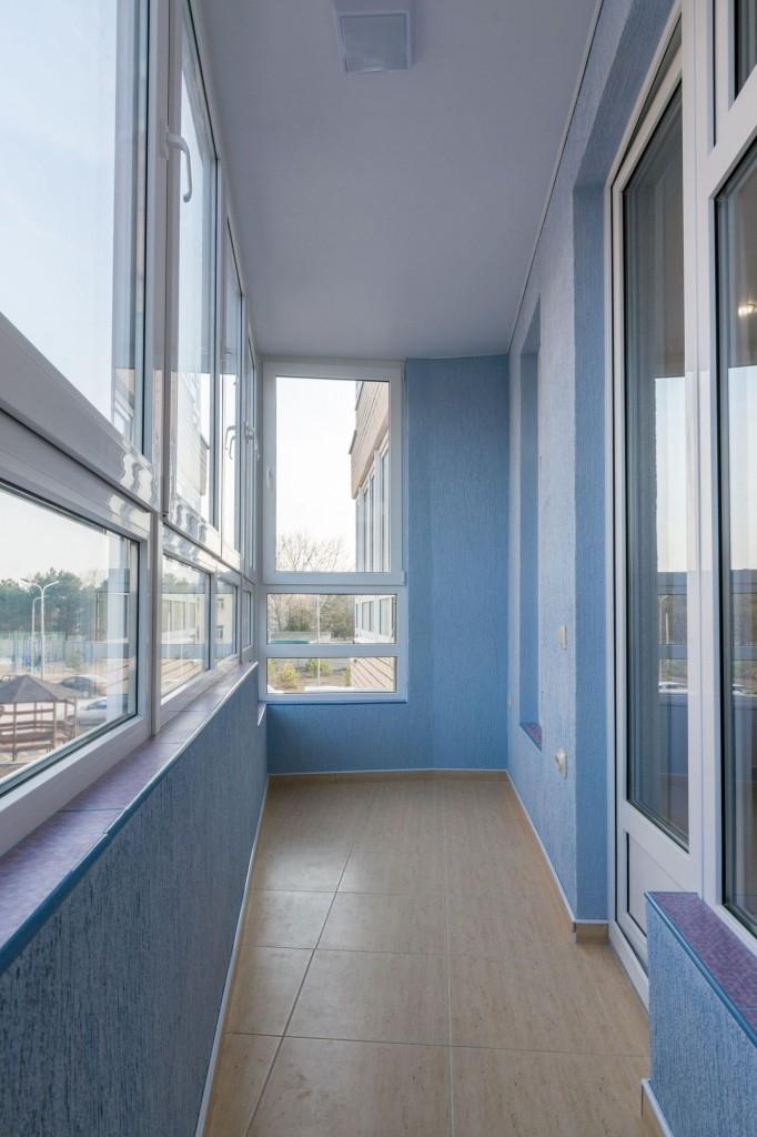 Zasklený balkon poskytne další prostor