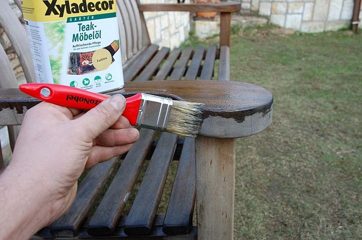 Údržba a ošetření nábytku z exotického dřeva – postup