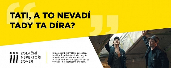 ISOVER spustil online seriál Izolační Inspektoři