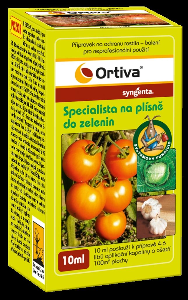Plíseň na rajčatech (plíseň bramborová)