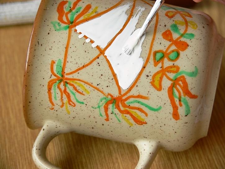 Jak použít fixy na porcelán