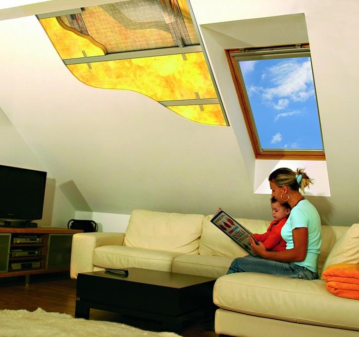 Na šikmou střechu s minerální izolací nové generace