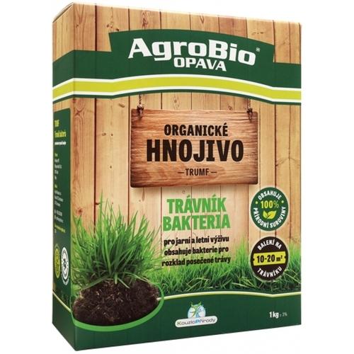 AgroBio TRUMF trávník bakteria organické hnojivo, 1 kg 005238