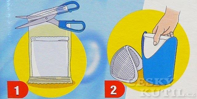 Postup instalace a použití vysoušeče Aquastop jsou velice jednoduché