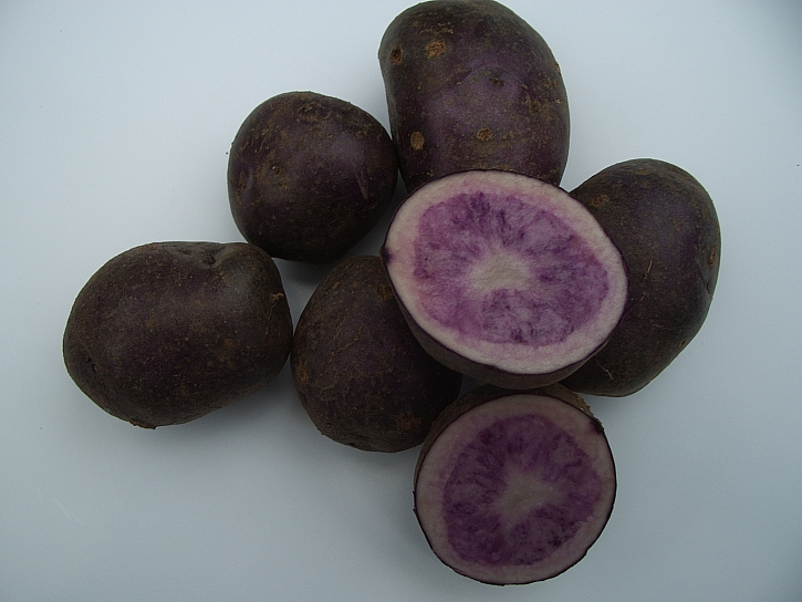 Borůvkové brambory
