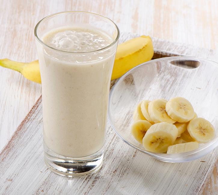 Banán a kefír