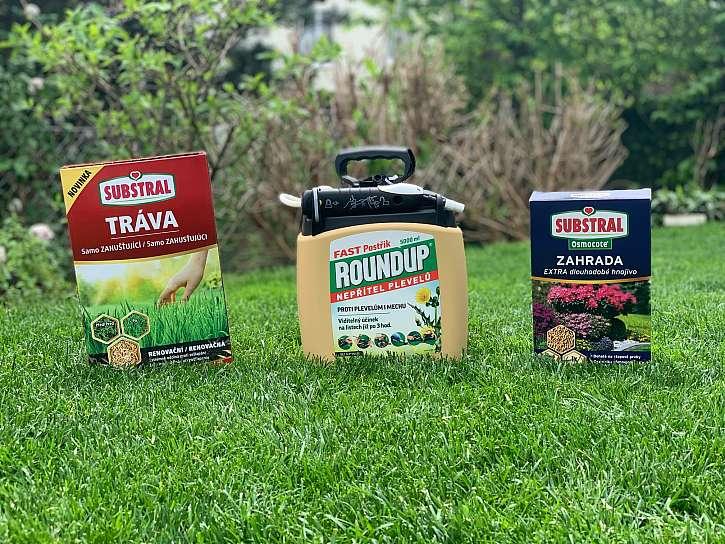 Soutěž z Receptáře: Vyhrajte balíček produktů pro péči o trávník