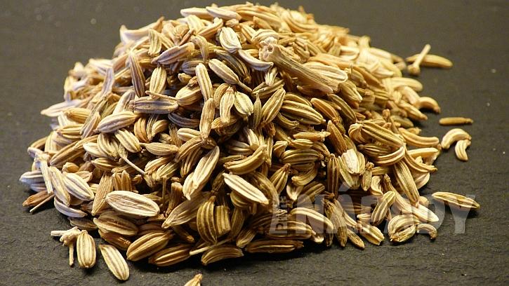 Domácí repelenty proti klíšťatům: fenyklová semínka