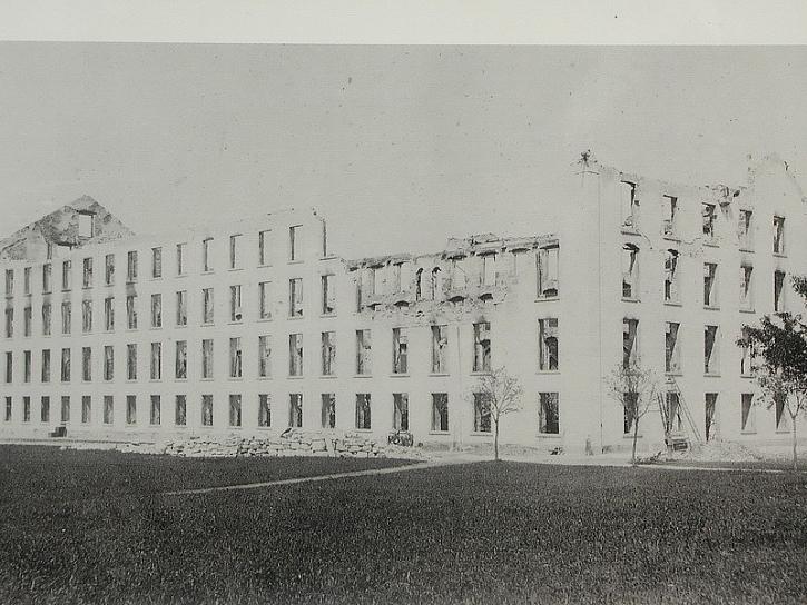 Návštěva první, bývalá továrna v Hagendornu