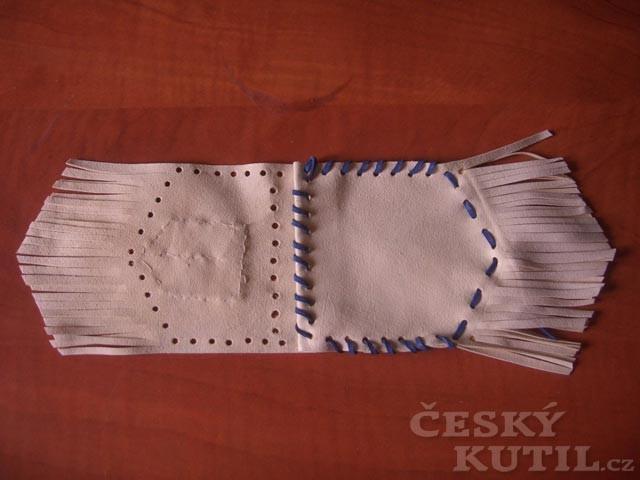 Jak vyrobit malý indiánský vak