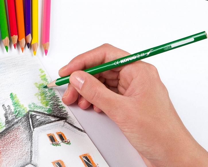 Kresli a maluj - akvarelové pastelky Kores Akuarelle
