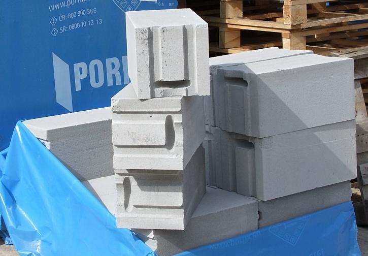 Výhody stavebního systému PORFIX