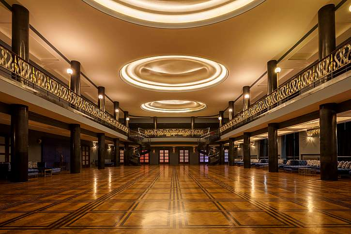 Originální Art Deco prostory v pražském Slovanském domě (Zdroj: BLUE DEER AGENCY)