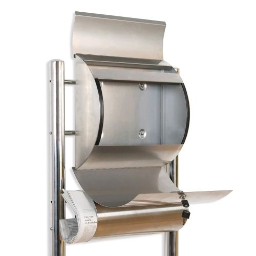 Tuin 1258 Poštovní schránka nerez 144 cm se stojanem