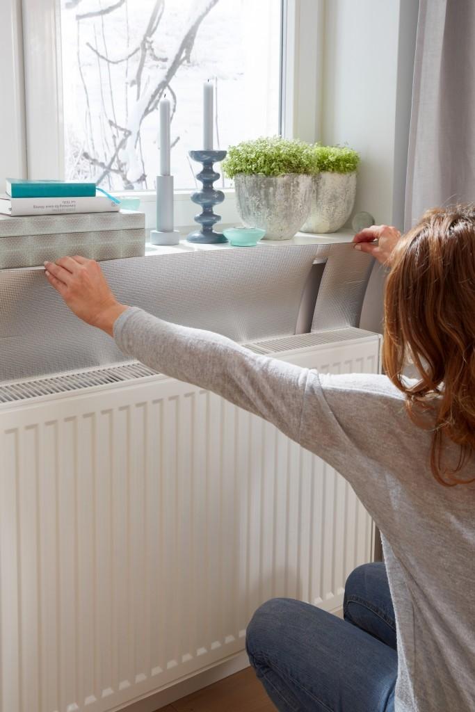 Odrazová fólie za radiátor