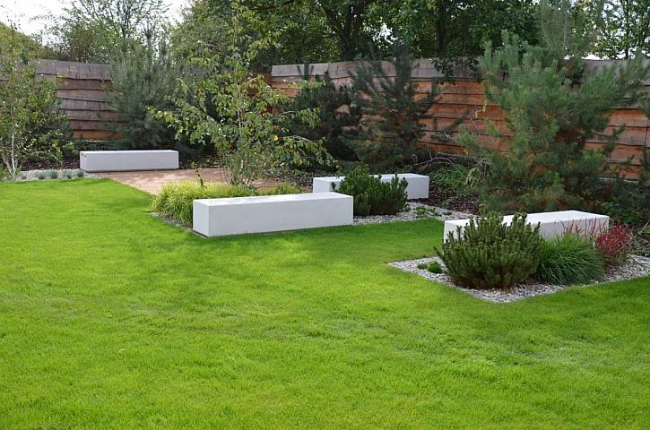 Designové betonové prvky ozvláštní každou zahradu (Zdroj: Presbeton)
