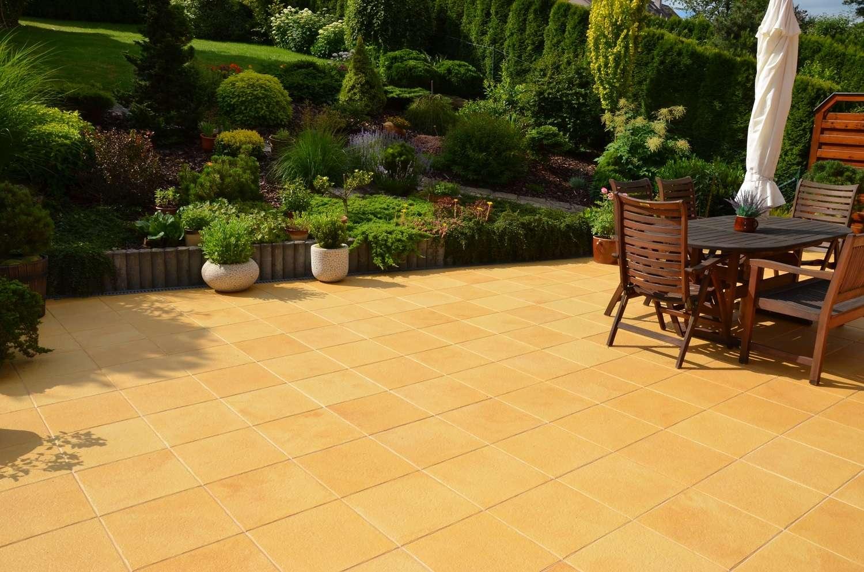 Beton v zahradě ohromí odolností i vzhledem