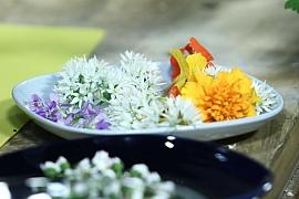 Jak vylepšit jídelníček barevnými květinami: Pochutnejte si jako včelky