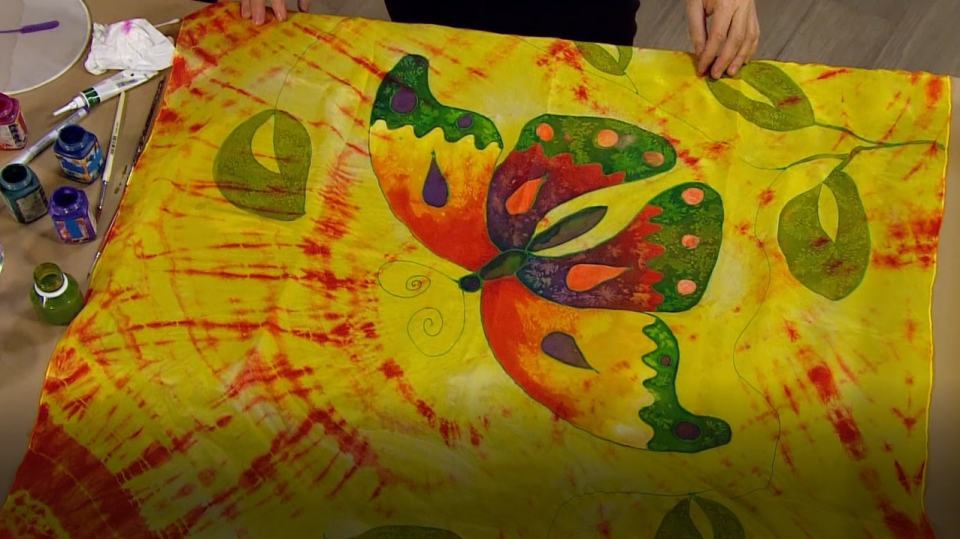 Malba na hedvábí: Textilní technika, která vás nadchne